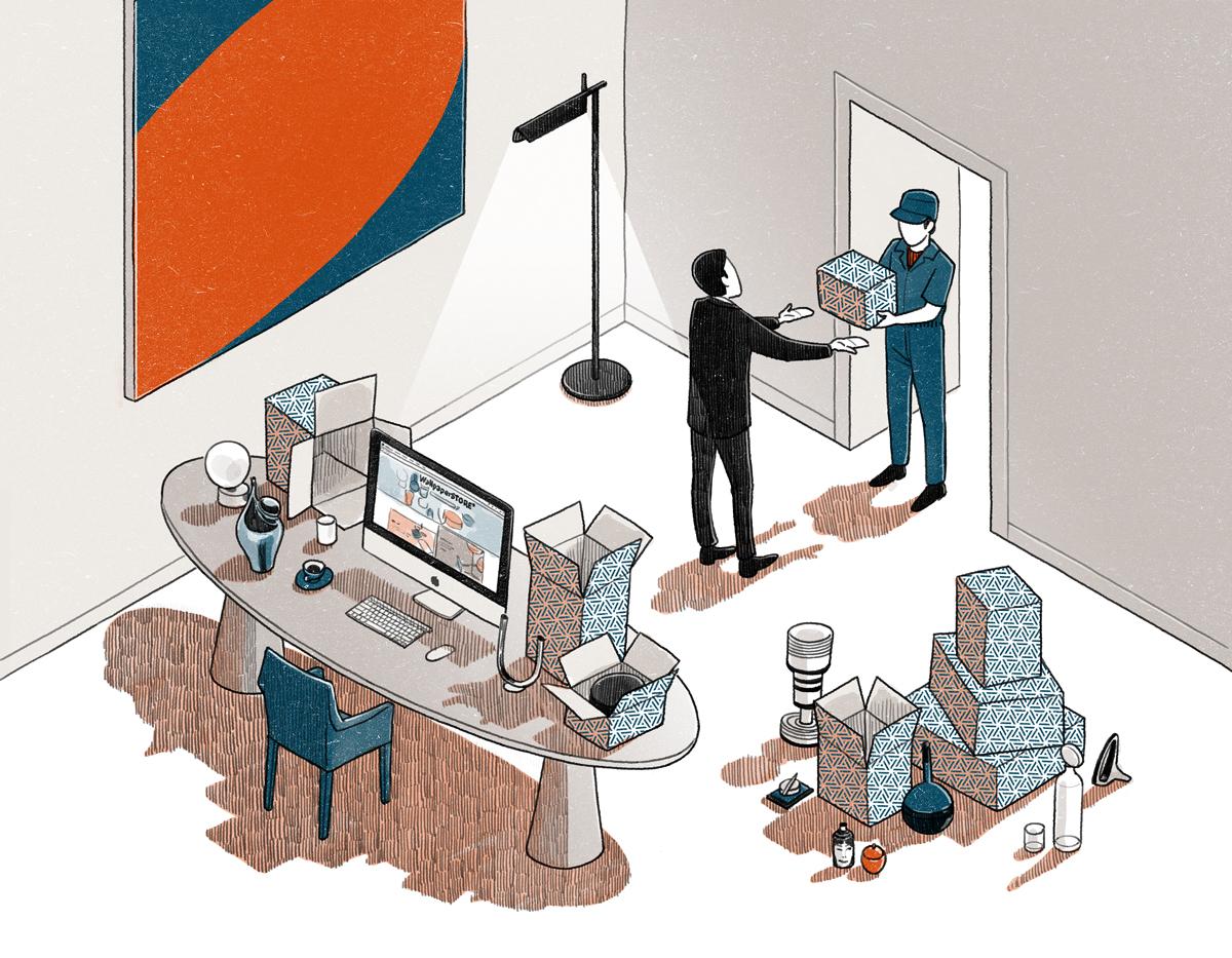 Vinson View Illustration for Wallpaper* july 2015 by Danae Diaz