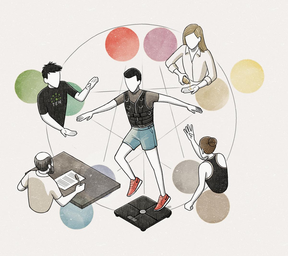 Vinson View Illustration for Wallpaper* june 2015 by Danae Diaz
