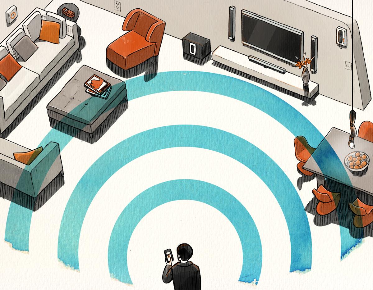 Vinson View Illustration for Wallpaper* march 2015 by Danae Diaz