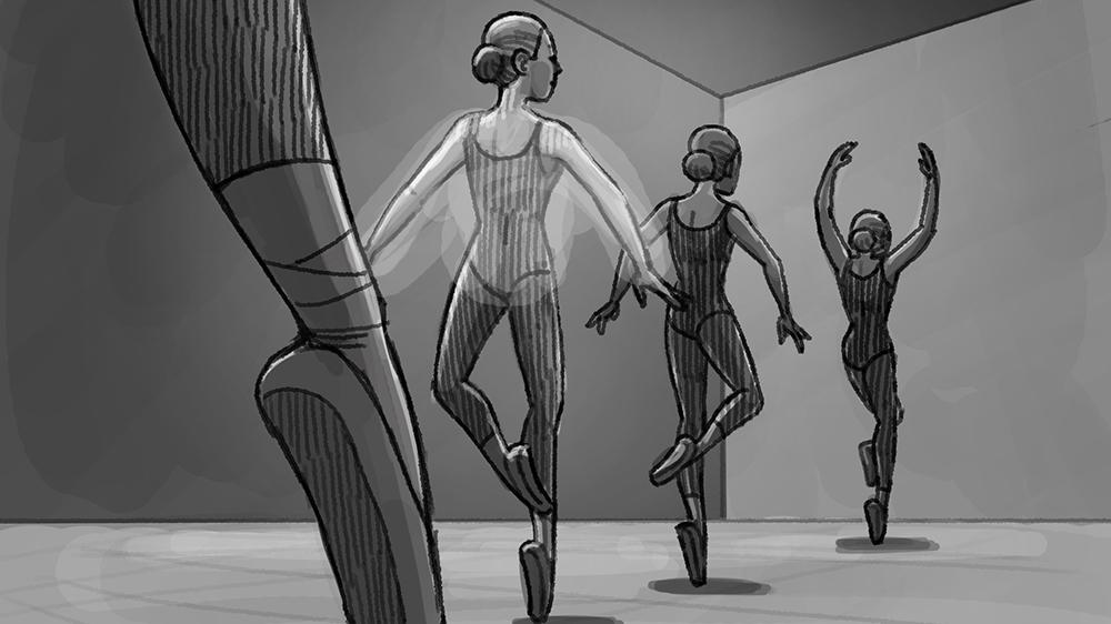Storyboard for Aura 8x4  spot by Danae Diaz