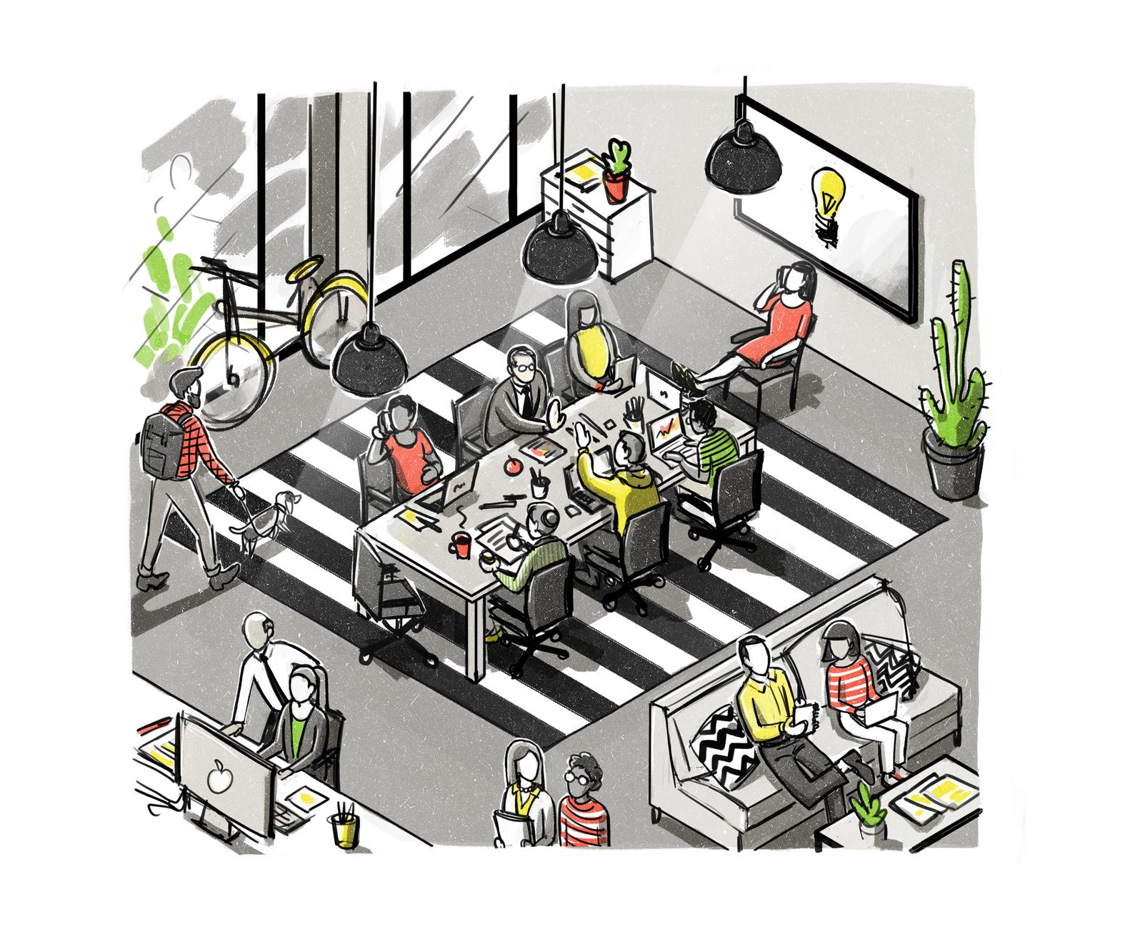 danae diaz illustration generations workspace